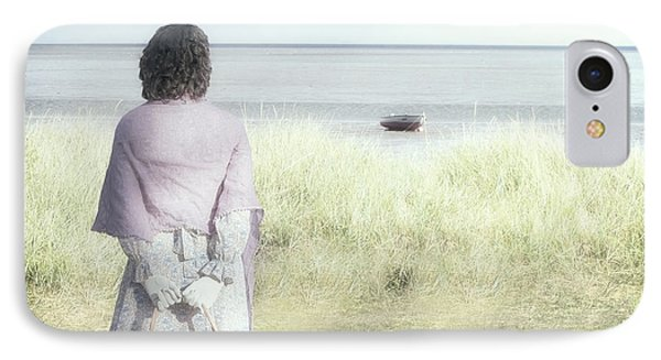 A Woman And The Sea IPhone Case