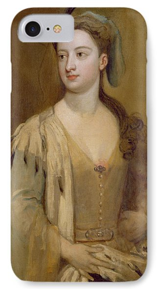 A Woman, Called Lady Mary Wortley Montagu, C.1715-20 Oil On Canvas IPhone Case