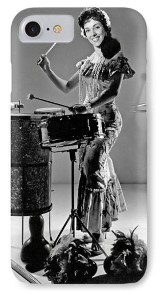 A Woman Calypso Percussionist IPhone Case