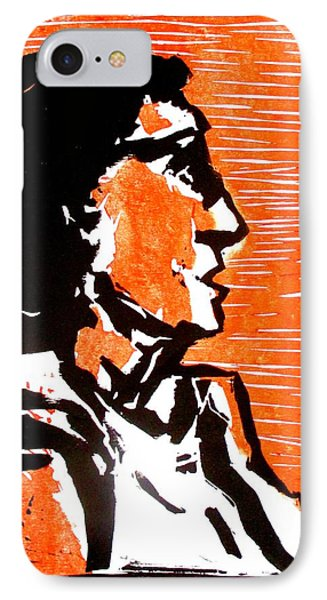 A Woman I IPhone Case by Maria Mimi