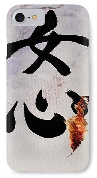 IPhone Case featuring the mixed media A Woman's Heart Flows As A Golden River by Peter v Quenter