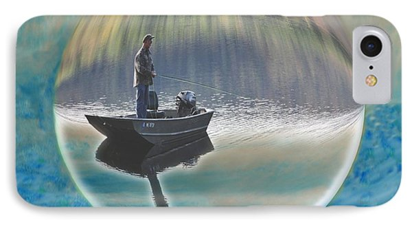 A World Of Good Fishing IPhone Case by Mike Breau