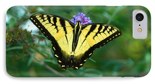 A Yellow Butterfly Phone Case by Raymond Salani III