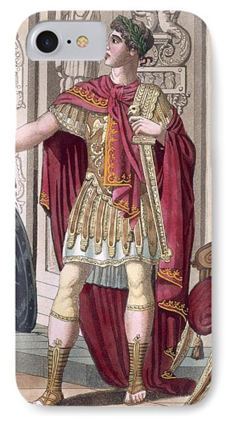 A Young Emperor In His Imperial Armour IPhone Case