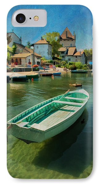 A Yvoire - France IPhone Case by Jean-Pierre Ducondi