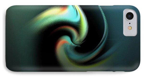 Ab-pisces IPhone Case by Ines Garay-Colomba