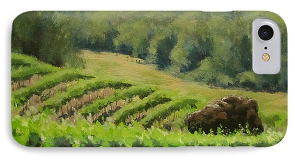 Abacela Vineyard Phone Case by Karen Ilari
