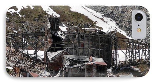 Abandoned Alaskan Gold Mine IPhone Case by Dani Abbott