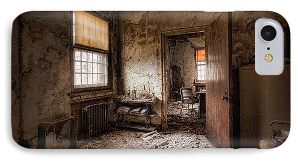 Abandoned Asylum - Haunting Images - What Once Was IPhone Case