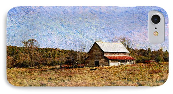 IPhone Case featuring the photograph Abandoned Barn In North Georgia by Vizual Studio