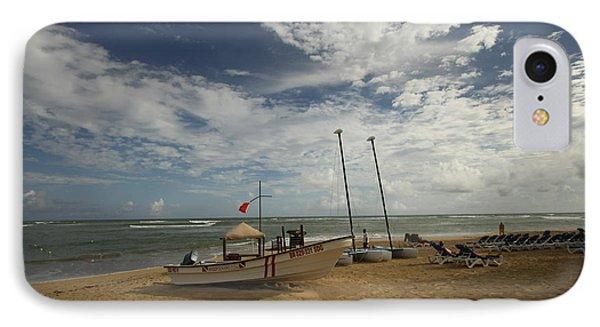 Abandoned Beach IPhone Case by Mustafa Abdullah