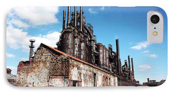 Abandoned Bethlehem Steel Phone Case by John Rizzuto