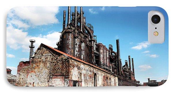 Abandoned Bethlehem Steel IPhone Case