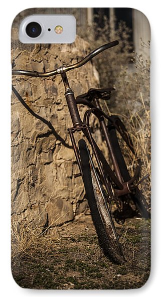 Abandoned Bicycle Phone Case by Amber Kresge