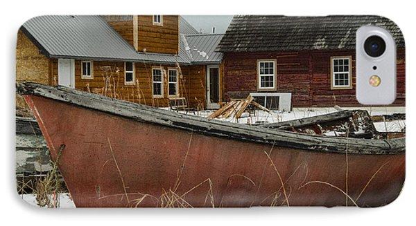 Abandoned Boat IPhone Case