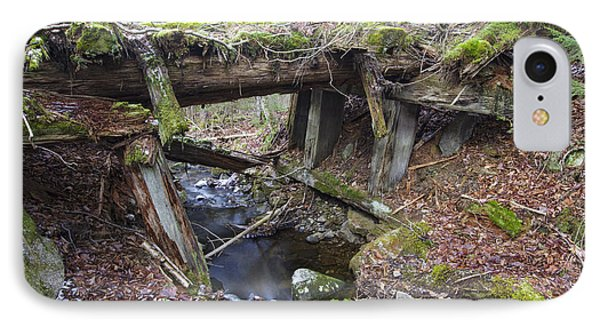 Abandoned Boston And Maine Railroad Timber Bridge - New Hampshire Usa Phone Case by Erin Paul Donovan