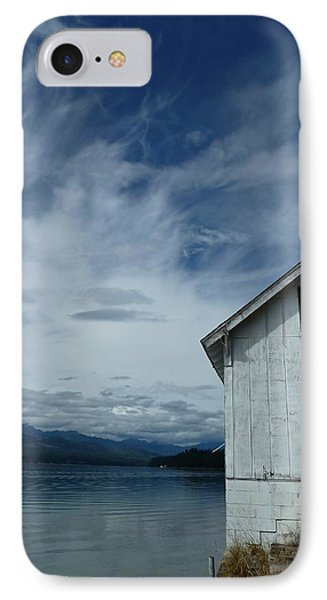 Abandoned By The Water Phone Case by Patricia Strand