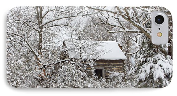 Abandoned Cabin In The Woods IPhone Case by Benanne Stiens