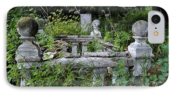 IPhone Case featuring the photograph Abandoned Cemetery 2 by Cathy Mahnke