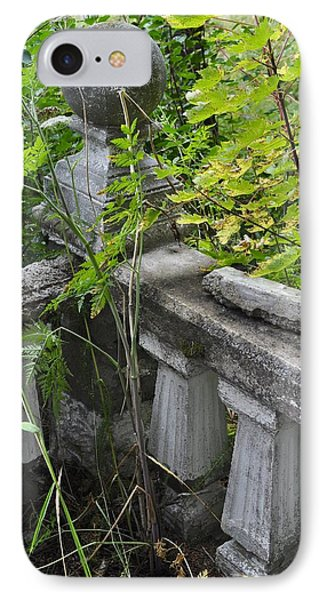 IPhone Case featuring the photograph Abandoned Cemetery by Cathy Mahnke