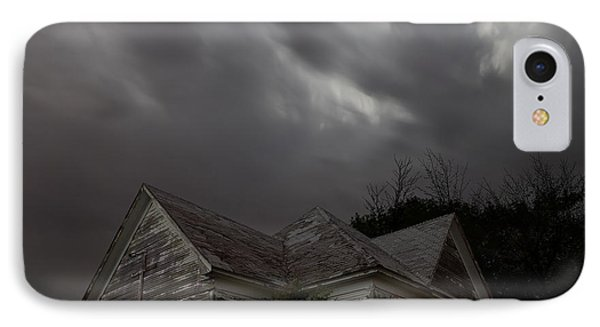Abandoned Church Of Walters Oklahoma IPhone Case by Keith Kapple