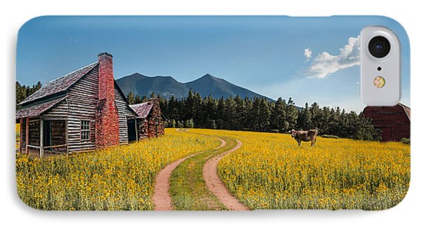 Abandoned Country Life IPhone Case