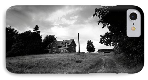 Abandoned Farm Home IPhone Case by Cale Best