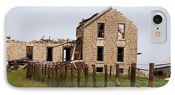IPhone Case featuring the photograph Abandoned Farm House by Mark McReynolds