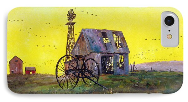 Abandoned  Farm IPhone Case by Lee Piper