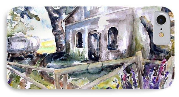 Abandoned Farm  Nossentin Phone Case by Barbara Pommerenke