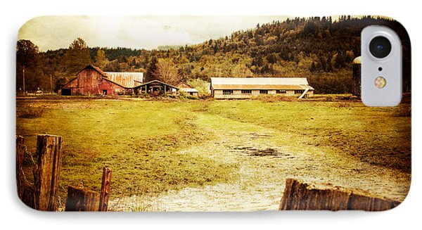 IPhone Case featuring the photograph Abandoned Farm by Takeshi Okada