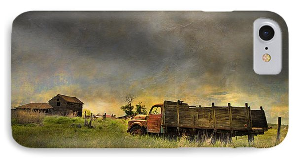 Abandoned Farm Truck IPhone Case by Theresa Tahara