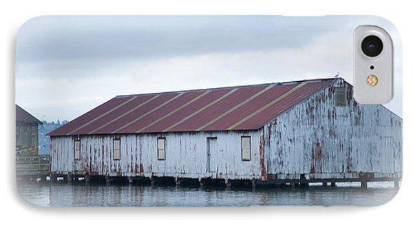 Abandoned Fishery Plant IPhone Case