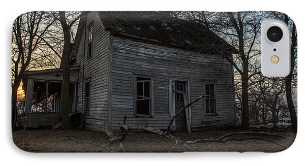 Abandoned Home IPhone Case by Aaron J Groen