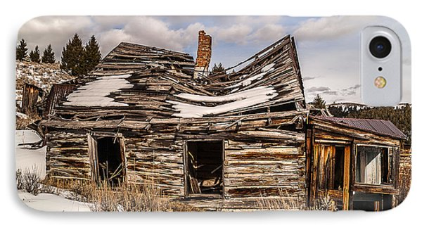 Abandoned Home Or Business Phone Case by Sue Smith