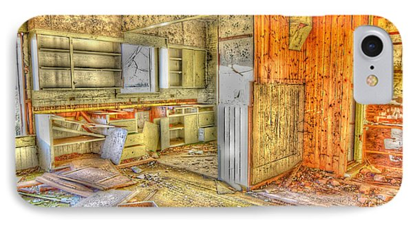 Abandoned House 1 IPhone Case by Bonnie Bruno