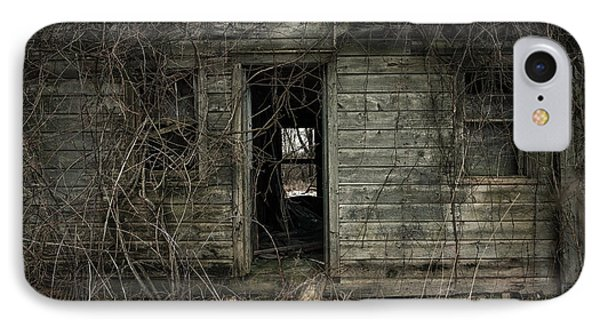 Abandoned House - Enter House On The Hill Phone Case by Gary Heller