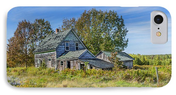 Abandoned House In Wentworth Valley IPhone Case by Ken Morris