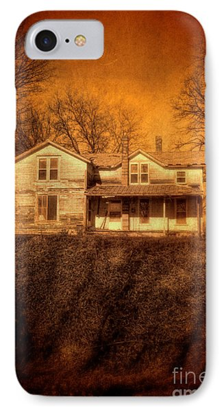 Abandoned House Sunset Phone Case by Jill Battaglia