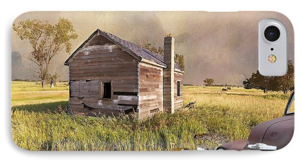 Abandoned IPhone Case by Liane Wright