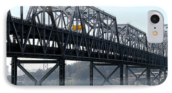 Abandoned Old Bridge And Yerba Buena IPhone Case by Panoramic Images