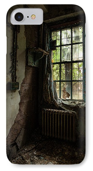 Abandoned - Old Room - Draped Phone Case by Gary Heller