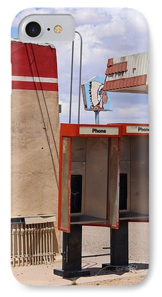 Abandoned Phone Booths IPhone Case by Suzanne Lorenz
