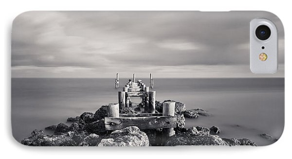 Abandoned Pier Phone Case by Adam Romanowicz
