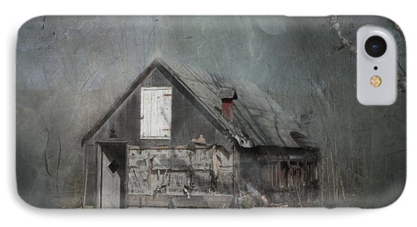 Abandoned Shack On Sugar Island Michigan Phone Case by Evie Carrier