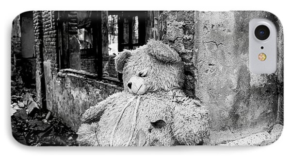 Abandoned Teddy Bear II IPhone Case by Dean Harte