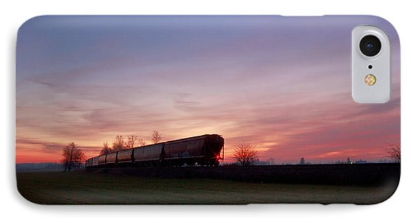IPhone Case featuring the photograph Abandoned Train  by Eti Reid