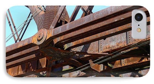 Abandoned - Whitford Railroad Bridge Phone Case by Richard Reeve