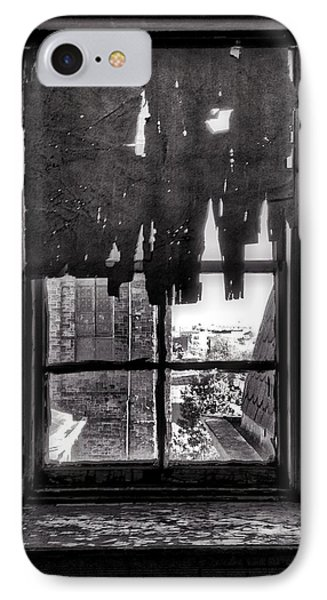 Harlem iPhone 7 Case - Abandoned Window by H James Hoff
