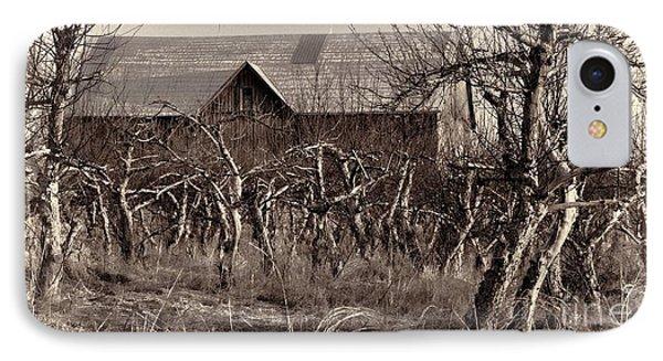 Abandoned Apple Orchard IPhone Case by Henry Kowalski
